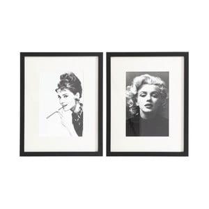 Komplet 2 obrazów Ixia Icones, 48x38cm