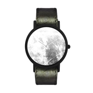 Zegarek unisex z ciemnozielonym paskiem South Lane Stockholm Avant Diffuse Invert