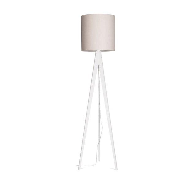 Lampa stojąca Artist Grey Linnen/White, 125x33 cm