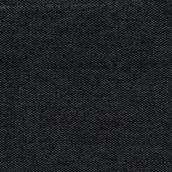 Czarne łóżko z naturalnymi nóżkami Vivonita Windsor, 140x200 cm