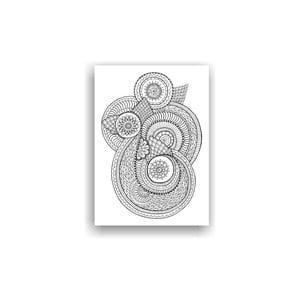 Obraz do kolorowania 56, 70x50 cm