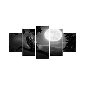 Wieloczęściowy obraz Black&White no. 41, 100x50 cm