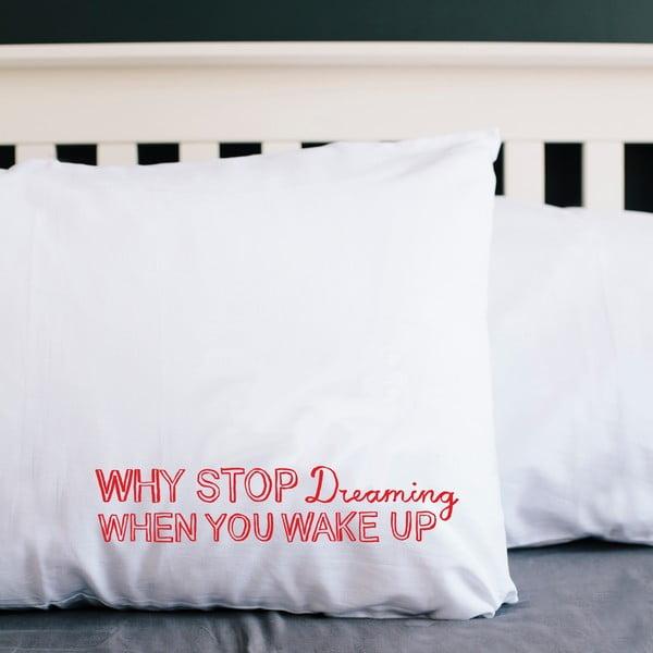 Poszewka na poduszkę Why Stop Dreaming, 52x72 cm