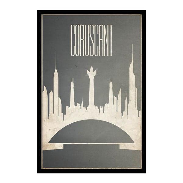 Plakat Coruscant, 35x30 cm