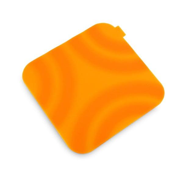 Pomarańczowa silikonowa łapka kuchenna Vialli Design