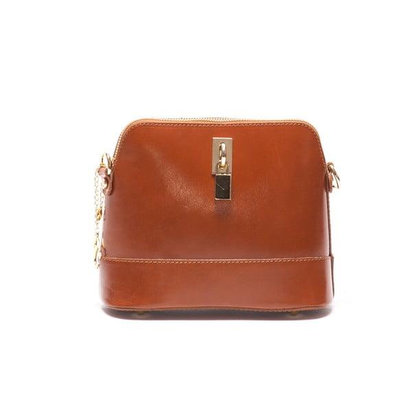 Skórzana torebka Renata Corsi 3004 Cognac