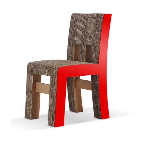 Kartonowe krzesło Campagnola Red