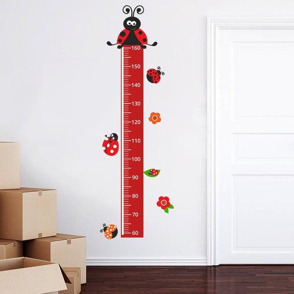 Naklejka/centymetr Biedronki, do 160 cm