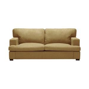 Ciemnożółta sofa 2-osobowa The Classic Living Charles