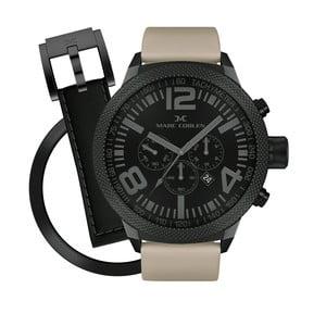 Zegarek męski Marc Coblen z dodatkowym paskiem i obręczą P60