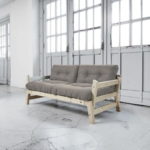 Sofa rozkładana Karup Step Natural/Granite Grey