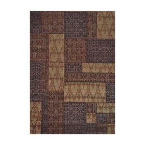 Dywan Patchwork 8 Brown, 62x124 cm
