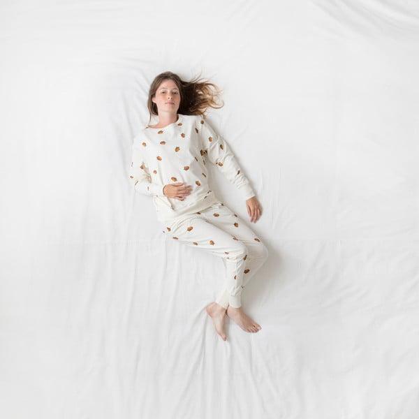 Białe spodnie damskie Snurk Winternuts, S