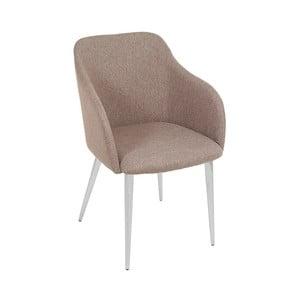 Szaro-beżowe krzesło Santiago Pons Moll