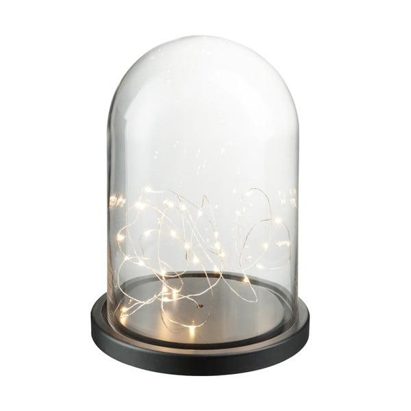 Dekoracyjny   klosz z żarówkami LED Bell, wysokość 32 cm