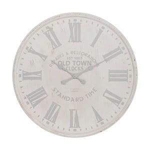 Zegar White and Grey, 60 cm