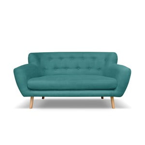 Ciemnozielona sofa trzyosobowa Cosmopolitan design London