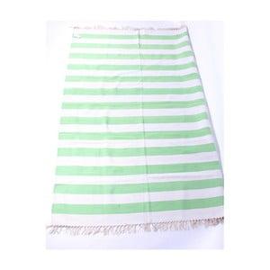 Dywan La Finesse Stribes Green, 140x200 cm