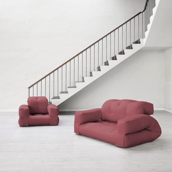 Sofa rozkładana Karup Hippo Bordeaux