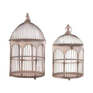 Zestaw 2 dekoracyjnych klatek dla ptaków VICAL HOME Viona
