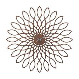 Zegar Sunflower Walnut