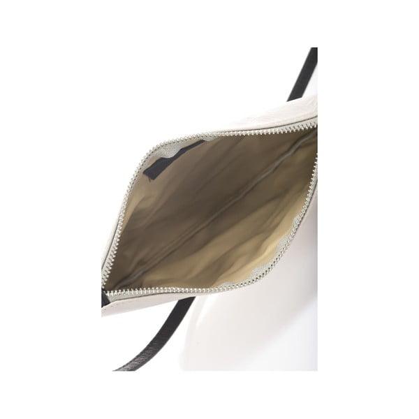 Szara torebka skórzana Krole Kody