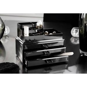 Czarny organizer na kosmetyki Compactor Black Box