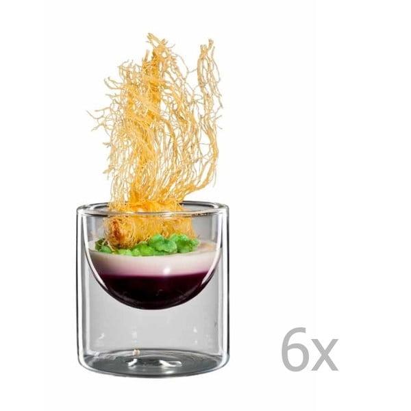 Zestaw 6   dużych szklanek bloomix Half Moon