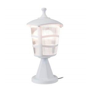 Biała lampa ogrodowa Luxury