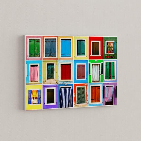 Obraz Paleta kolorów, 50x70 cm