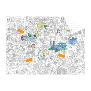 Kieszonkowa mapa-kolorowanka London