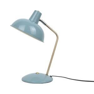 Jasnoniebieska lampa stołowa Leitmotiv Hood