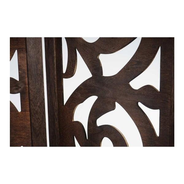 Parawan Ornaments Brown, 161x170 cm