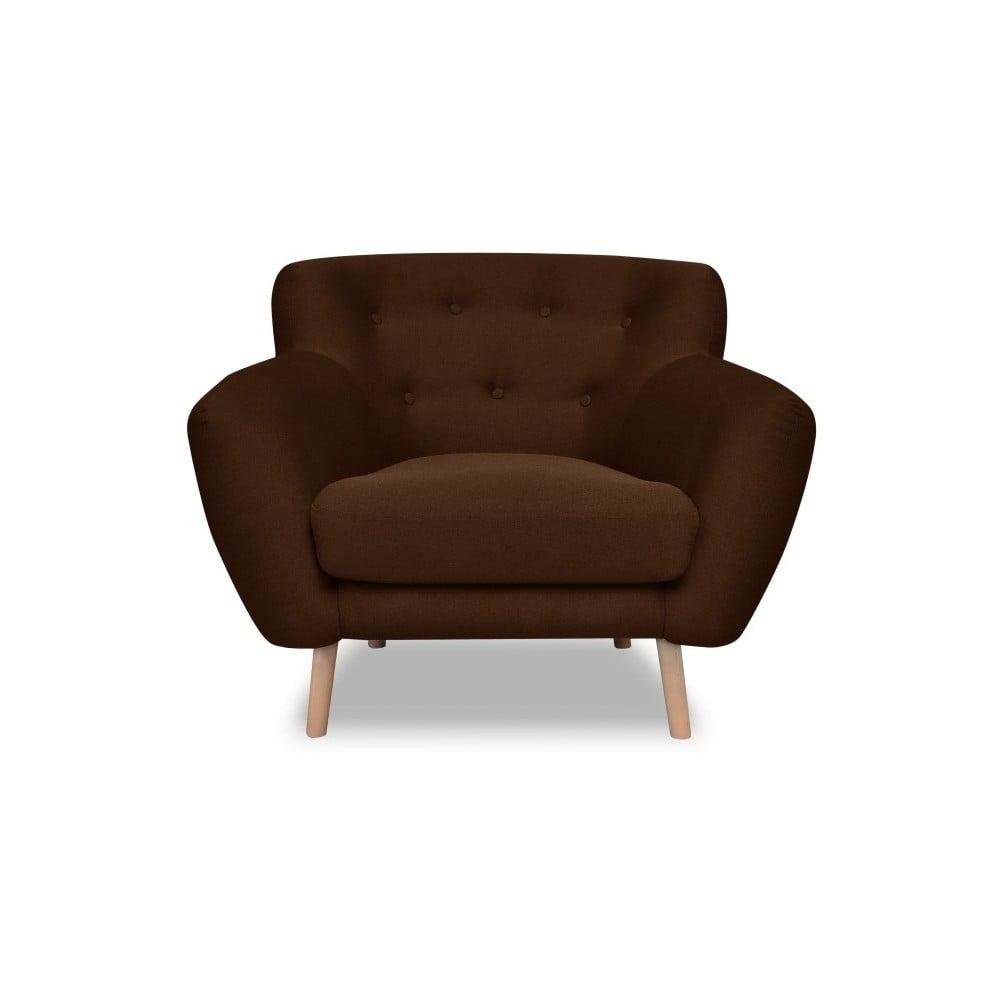 Brązowy fotel Cosmopolitan design London