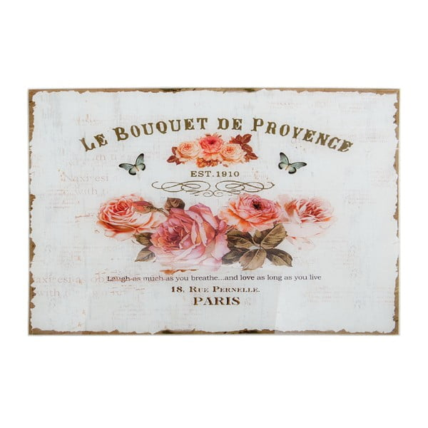 Szklany obraz Le Bouquet, 60x40 cm