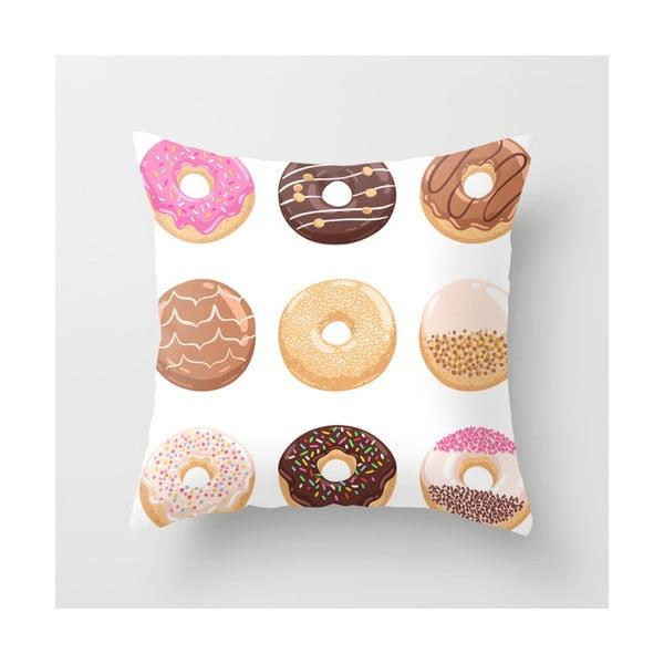 Poduszka Donuts I, 45x45 cm