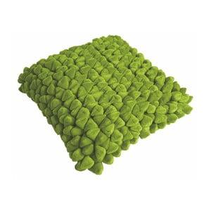 Zielona poduszka ZicZac Pebble, 45x45 cm