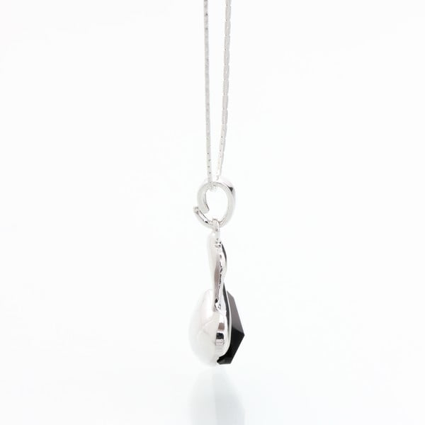 Naszyjnik z kryształami Swarovski Elements Laura Bruni Black Swan