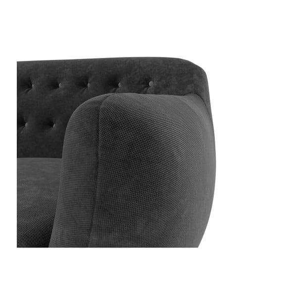 Fotel Indigo, ciemnoszary