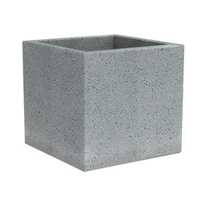 Skrzynka na doniczkę Stone, 30 cm, szara