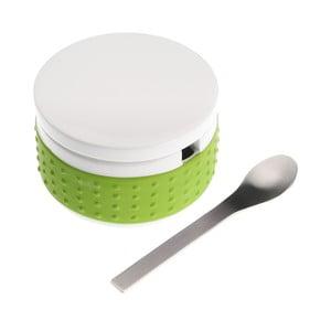 Zielona   cukiernica z łyżeczką Versa Spoon