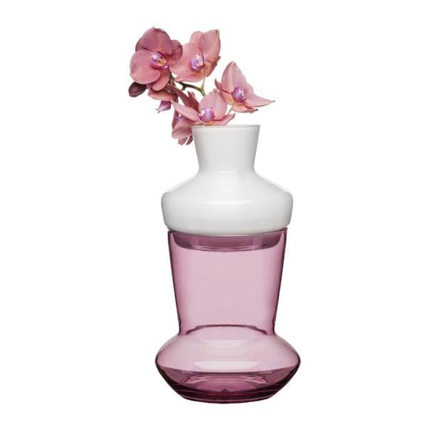 Różowy dwuczęściowy wazon Sagaform Duo