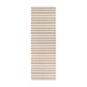 Brązowo-biały chodnik odpowiedni na zewnątrz Narma Hullo, 70x350cm