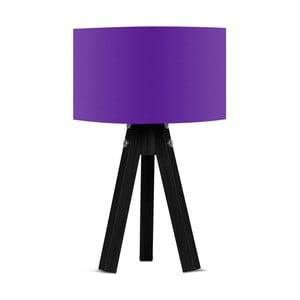 Lampa stołowa z fioletowym abażurem Kate Louise Blackie