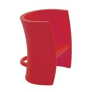 Czerwone krzesło wielofunkcyjne Magis Trioli