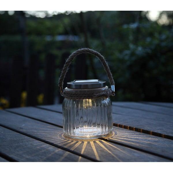 Lampion Solar Energy Glass Jar
