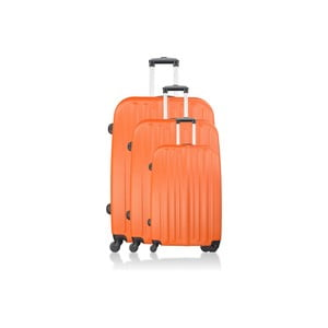 Komplet 3 walizek Integre Orange