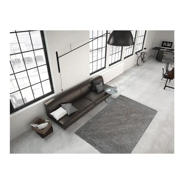 Szaro-brązowy dywan Smoothy, 80x150cm
