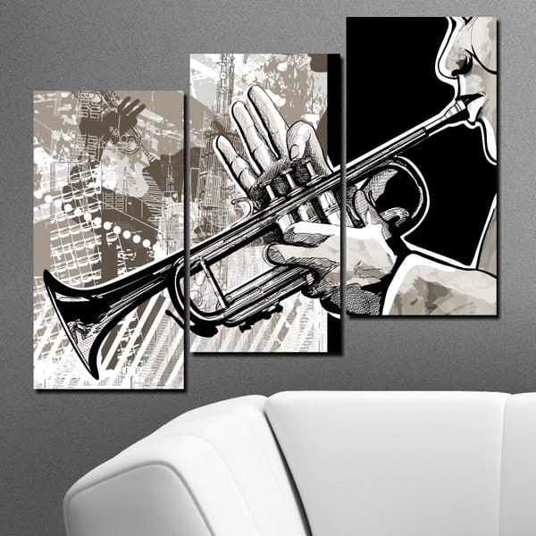 3-częściowy obraz Muzykant
