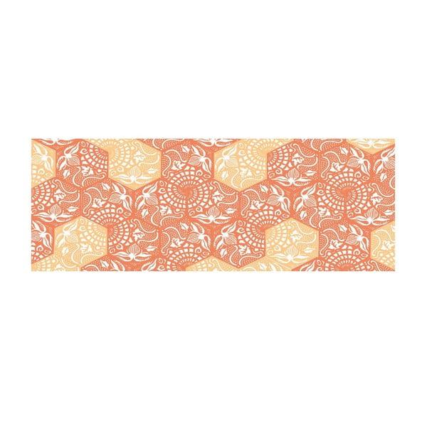 Winylowy dywan Cocina Paseo Naranja, 50x120 cm